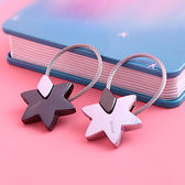 米勒斯星星鑰匙扣 男女汽車鑰匙鏈掛件韓國可愛鑰匙圈環創意簡約 歌莉婭