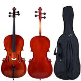 ★JYC Music★嚴選入門JV-760雲衫實木大提琴1/2-1/4-1/8~全配套裝組