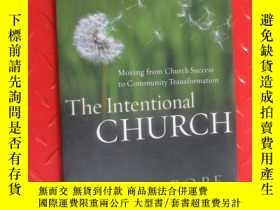 二手書博民逛書店The罕見Intentional CHURCH POPEY15969