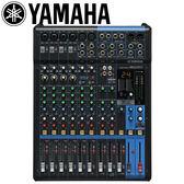 【敦煌樂器】YAMAHA MG12XU 12軌混音座 內建SPX效果