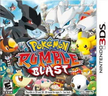 3DS Pokemon Rumble Blast 3DS 超級神奇寶貝亂戰(美版代購)