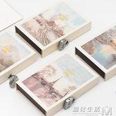 密碼本子多功能筆記本帶鎖的日記本成人韓國創意小清新復古文藝記事本  遇見生活