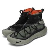 Nike 戶外鞋 ACG Air Terra Antarktik 綠 黑 男鞋 高筒 Gore-Tex 防水 襪套式 【PUMP306】 BV6348-300