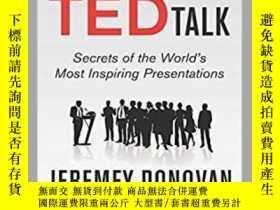 二手書博民逛書店How罕見to Deliver a TED Talk: Secr