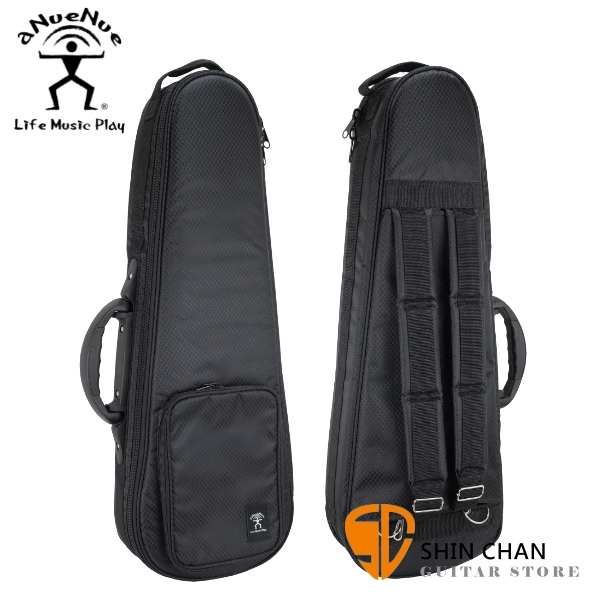 aNueNue aNN-UDT 26吋烏克麗麗專用 原廠豪華加厚款琴袋 Deluxe系列 可雙肩背 (黑邊新款)