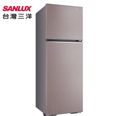 【SANLUX三洋】380公升變頻雙門冰箱SR-C380BV1-P