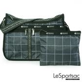 LeSportsac - Standard雙口袋A4大書包-附化妝包 (冬季格紋) 7507P F520