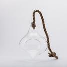 【出清$39元起】淨透微光燈工水滴造型花器-生活工場