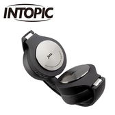 INTOPIC 鋁合金藍牙頭戴耳機麥克風 BT989