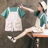 女童夏裝套裝2019年新款夏季兒童裝超洋氣韓版網紅中大童女裝時髦