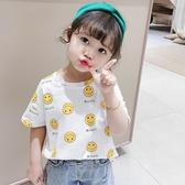 女童t恤 夏季韓版兒童短袖t恤上衣小童純棉洋氣體恤寶寶T