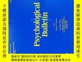 二手書博民逛書店Psychological罕見Bulletin (Journal) 01 2013 心理學學術期刊考研Y146