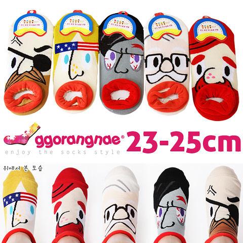 【衣襪酷】韓國 ggorangnae 可愛卡通直版襪 多款造型 休閒舒適《棉襪/低口襪/短襪/船形襪》