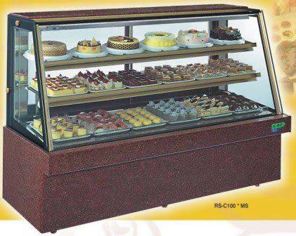 斜玻大理石型 西點蛋糕冷藏櫃【5尺冰櫃】型號:C-105MS