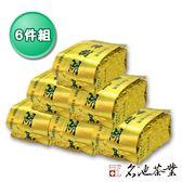 【名池茶業】台灣嚴選阿里山樟樹湖高山烏龍茶6件組(贈提袋x1)