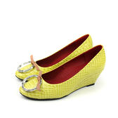 HUMAN PEACE 休閒鞋 黃色 女鞋 no389