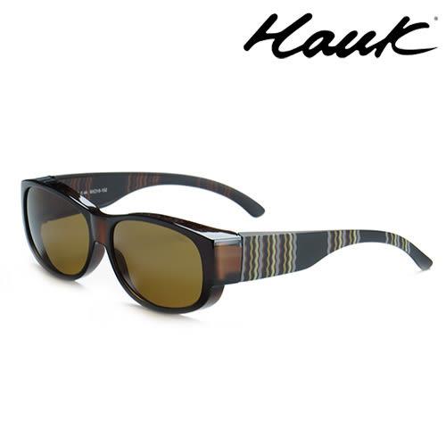 HAWK偏光太陽套鏡(眼鏡族專用)HK1002-44