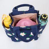 帶飯手提袋子帆布媽咪包飯盒包韓版午餐便當包拎裝飯盒袋的手提包 生日禮物 創意