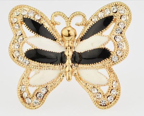 全新戒指女 飾品食指 蝴蝶