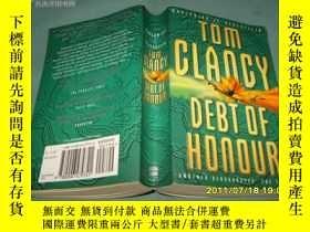 二手書博民逛書店TOM罕見CLAOCY DEBT OF HONOUR(湯姆克蘭西