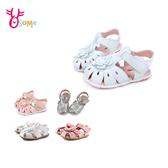 【5款女寶寶學步涼鞋】 台灣製寶寶涼鞋 護趾涼鞋 真皮涼鞋 嬰兒涼鞋 0-2歲涼鞋柔軟G6236