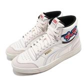 Puma 休閒鞋 Ralph Sampson Mid Japanorama 米白 紅 男鞋 女鞋 聯名款 運動鞋 皮革【ACS】 37407201