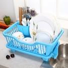 大號塑膠碗櫃收納箱碗架筷架瀝水籃廚置物架【快速出貨】