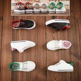 小星童鞋小白鞋鞋女童小蜜蜂板鞋