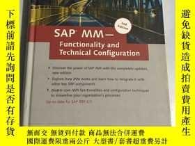 二手書博民逛書店SAP罕見MM-functionality and technical configurationY20850