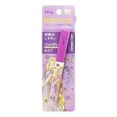 〔小禮堂〕迪士尼 長髮公主 筆型攜帶式剪刀《紫.閉眼》事務剪.事務用品 4901770-59620