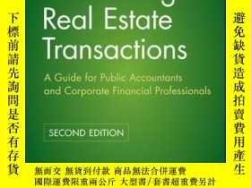 二手書博民逛書店Accounting罕見for Real Estate Transactions: A Guide For Pub