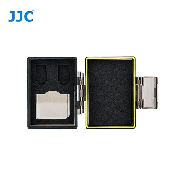 又敗家@JJC多用途2合1防水防撞記憶卡電池收納盒BC-UN1適1張SD記憶卡、2張Micro微SD記憶卡