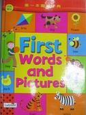 【書寶二手書T2/少年童書_QOP】第一本圖畫字典_Claire Chrystall