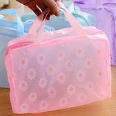 售完即止-手提包遊泳袋子多功能便攜折疊大容量防水手提洗澡包泳包庫存清出(4-8S)
