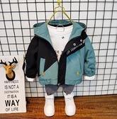 男童外套 春外套2021新款洋氣秋裝男孩加絨加厚風衣兒童韓版寶寶上衣【快速出貨八折鉅惠】