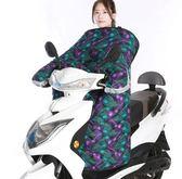 電動車擋風被冬季時尚加厚加絨自行電瓶摩托車防風罩防冷衣女小型 DJ4656【宅男時代城】