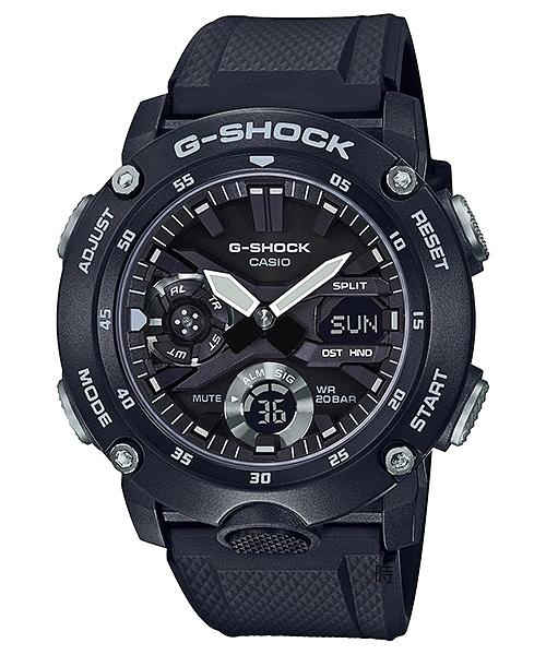 CASIO卡西歐 G-SHOCK 全新街頭軍事 手錶 GA-2000S-1A /48mm