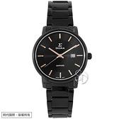 【台南 時代鐘錶 SIGMA】簡約時尚 藍寶石鏡面 鋼錶帶女錶 1122L-BG 玫瑰金/黑 30mm 平價實惠的好選擇