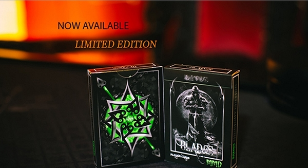 【USPCC撲克】BLADES BLOOD SPEAR EMERALD EDITION