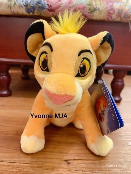 *Yvonne MJA* 美國迪士尼Disney 正版限定商品 獅子王 辛巴 精緻小型娃娃