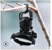 爆款戶外用品18LED野營燈可攜式露營帳篷燈亞馬遜爆款野營風扇燈 【端午節特惠】