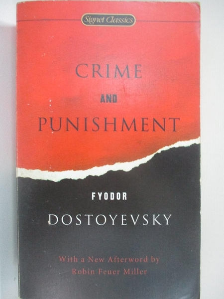 【書寶二手書T1/原文小說_BUI】Crime and punishment_Fyodor Dostoyevsky