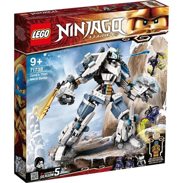 樂高積木Lego 71738 冰忍的鈦機械人之戰