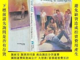 二手書博民逛書店FIRST罕見AID RESPONDING TO EMERGENCIES 應急救援 英文原版 品如圖 避免爭議