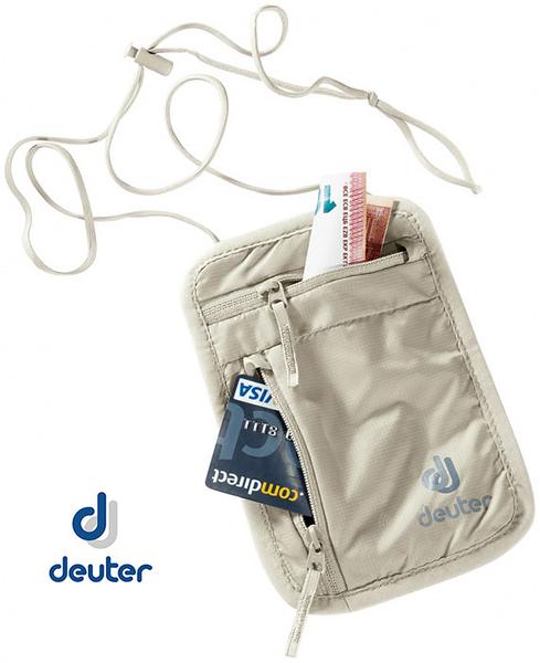 丹大戶外【Deuter】德國 Security Wallet I 隱藏式錢包 隱藏式腰包 卡其色 3942016