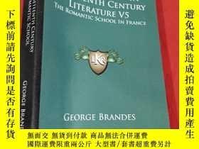 二手書博民逛書店Main罕見Currents in Nineteenth Century Literature V5: The R