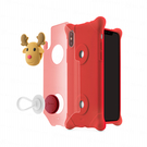 iPhone X 泡泡保護套-麋鹿