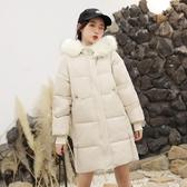 外套 棉襖 羽絨 2020新款ins小個子顯瘦棉服中長款韓版寬松chic羽絨棉襖衣女 學生