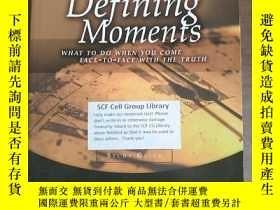 二手書博民逛書店Defining罕見Moments Study Guide: W