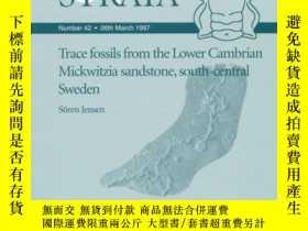 二手書博民逛書店Trace罕見Fossils from the Lower Cambrian Mickwitzia Sandsto